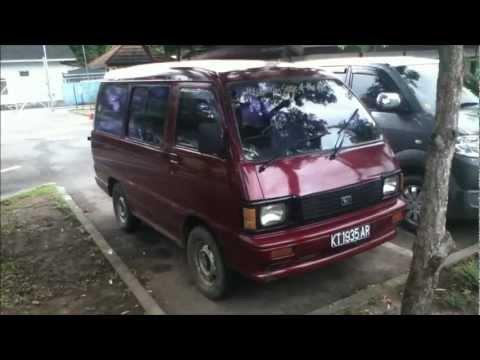 1989 Daihatsu Zebra 1.0 review (Start up. engine. and in depth tour)