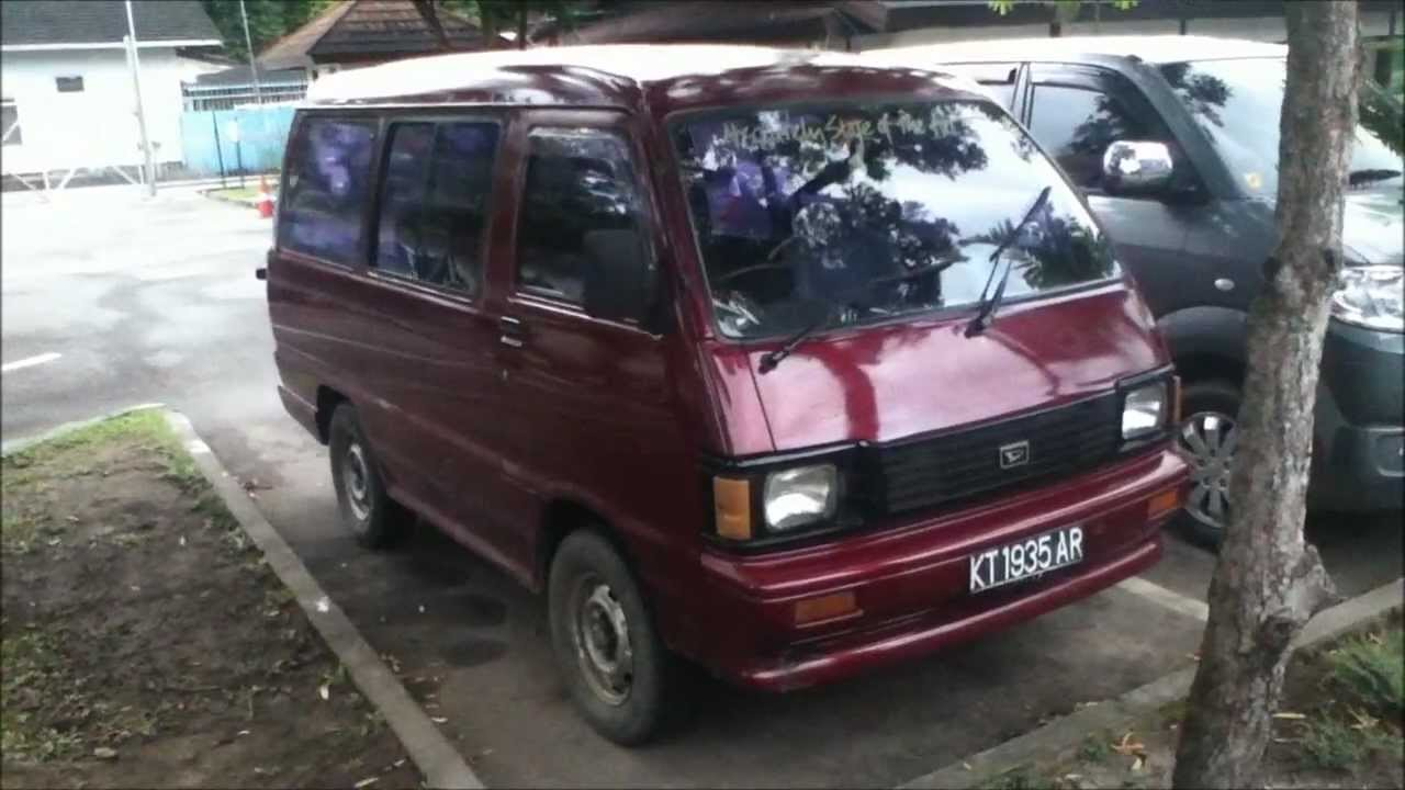 1989 Daihatsu Zebra 1.0 review (Start up, engine, and in depth ...