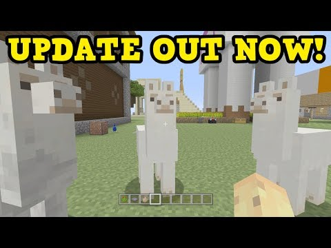 Minecraft Xbox One / PS4 - OUT NOW: TU54 ALL FEATURES