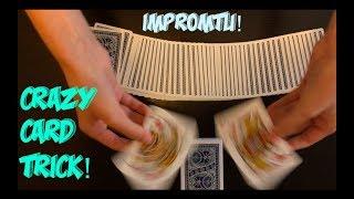 Crazy Transportation Intermediate/Advanced Card Trick Performance And Tutorial!