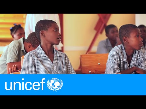 A new school in Haiti gives a visually impaired boy a second chance | UNICEF