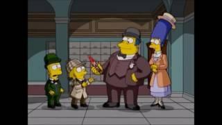 Cuatro decapitados y un funeral (Parte 1/2) Los Simpson