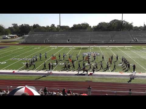Warren High School Band 2012 - UIL Region 10 Marching Contest
