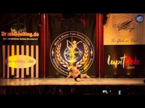 Miss & Mister Pole Dance Globe 2015 - David J Hultgren - Finalist - Men 18+