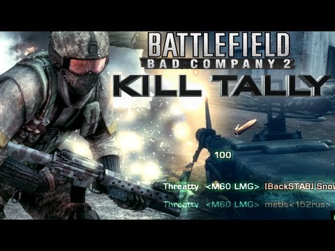 Kill Tally | BFBC2 Montage by Threatty