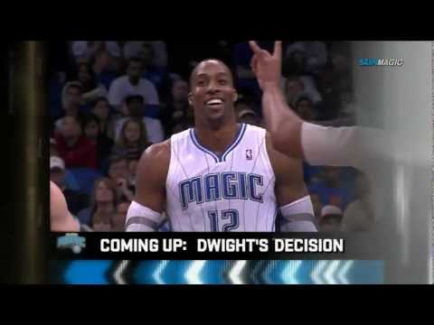 Orlando Magic Opening Sequence -  Dwight Howard Stays - March 16, 2012