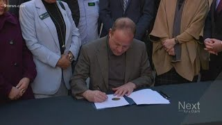 Jared Polis signs executive order to transition Colorado to zero emission vehicles