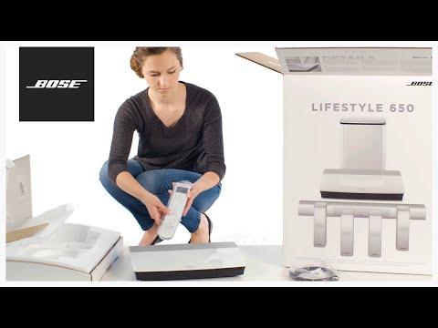 Bose Lifestyle 650 - Unboxing + Setup