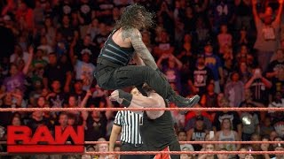 Roman Reigns vs. Kevin Owens: Raw, 12. September 2016