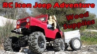 CVP - RC Icon Jeep Adventure - Wood Supplies