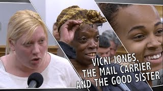 Vicki Jones, The Mail Carrier, The Good Sister and More
