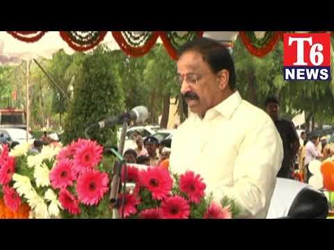 T6 NEWS://T.ఆవిర్భావ ఉత్సవాలలో మంత్రి తుమ్మల నాగేశ్వరవు.