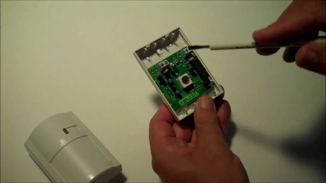How to install a burglar    alarm    motion detector  YouTube