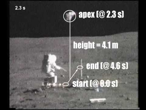 Irrefutable Proof for Moon Landing - Lunar Gravity