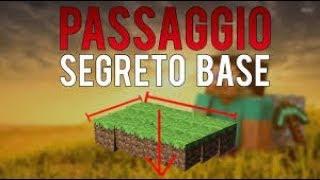 3 PASSAGGI SEGRETI SEMPLICISSIMI | Minecraft ITA EP 1