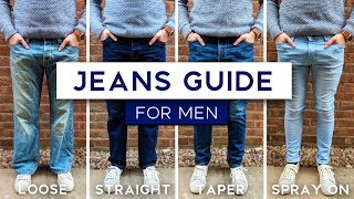 Men's Jeans Fit Guide | The Best Style Jeans For Your Physique