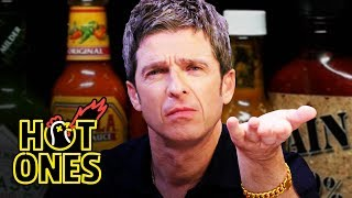 Noel Gallagher Looks Back in Anger at Spicy Wings | Hot Ones