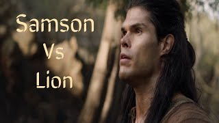 Samson Vs Lion |  GOD showed up his sign to SAMSON through lion | Judges 14 (Samson) (2020)
