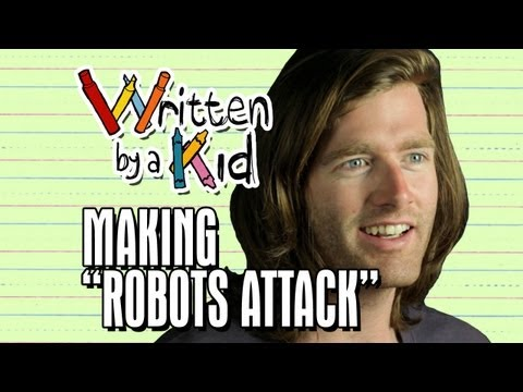 Making Of robots Attack - Written By A Kid Ep 6 Behind The Scenes video