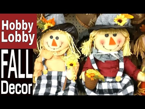 Hobby Lobby FALL Decor 2018