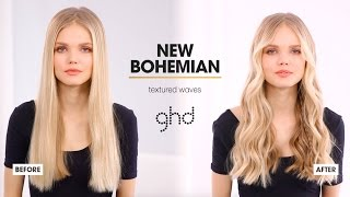 hair tutorial   textured waves   ghd wanderlust