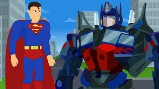 Superman vs Optimus Prime