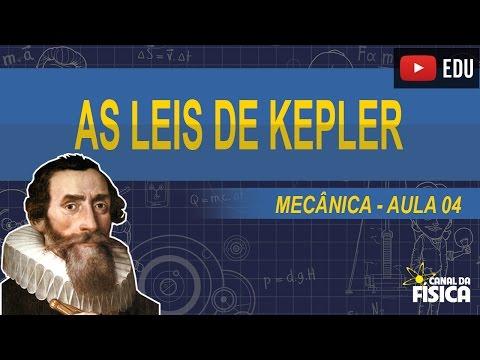 Aula 04 - As Leis de Kepler - #Canal da Física