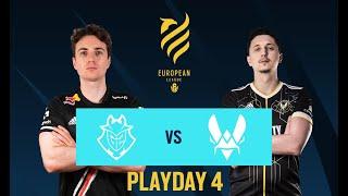 G2 Esports vs Vitality // Rainbow Six European league 2021 - Stage 1 - Playday 4