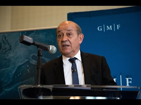(French) A Conversation with French Minister of Defense Jean-Yves Le Drian