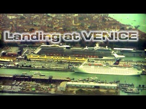 Landing at Venice