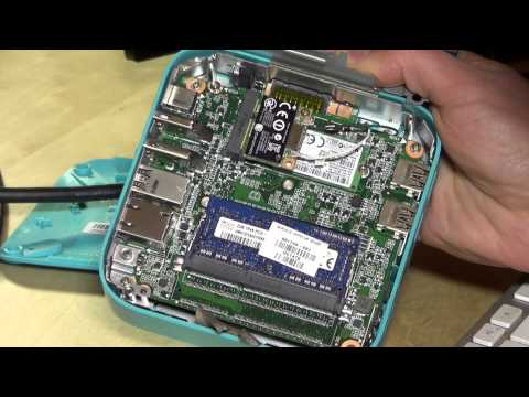 HP Chromebox Taken apart - RAM replacement, hard drive, and what's under the hood