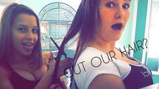 we cut our hair!!