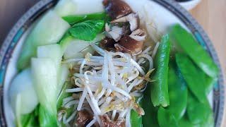 VEGETARIAN PHO. HOW TO MAKE  VEGETARIAN PHO. Vietnamese Soup.