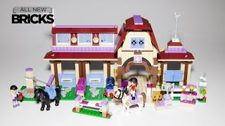 Lego Friends 41126 Heartlake Riding Club Speed Build