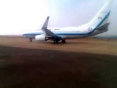 HUBLI AIRPORT - RARE VIDEO - HISTORIC LANDING OF BOEING 737