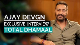 Ajay Devgan  Exclusive Interview | Total Dhamaal | Madhuri Dixit | Anil Kapoor