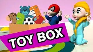 🎁 SUPERHERO BABY TOY BOX 🎁