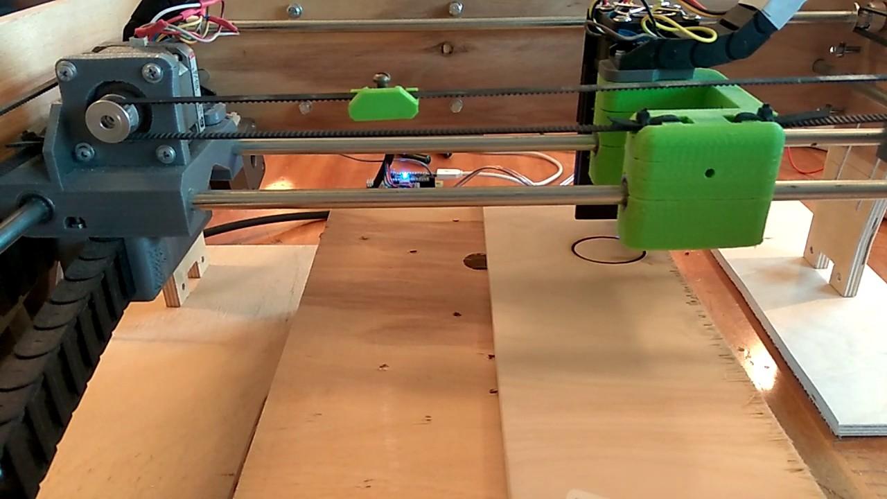 Станок для лазерная резка фанеры своими руками 36