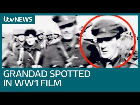 Woman Spots Grandfather In Peter Jackson's WW1 Film | ITV News