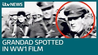 Woman Spots Grandfather In Peter Jackson's WW1 Film | ITV News