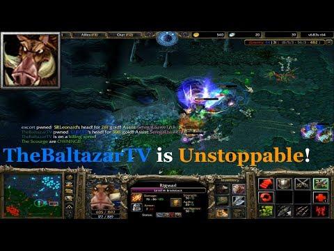DotA 6.83 - Bristleback UNSTOPPABLE (TheBaltazarTV)