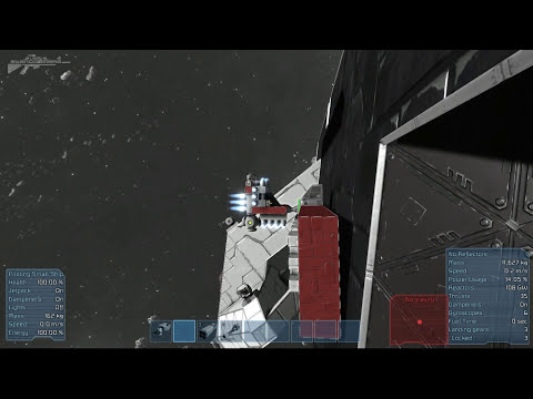 Space Engineers - The Nightmare Battle Cruiser Mega Ship Prototype Part 34