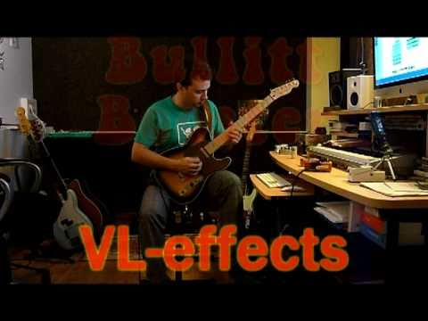 Vl effects bullitt booster Jimi red testée par samoht (Thomas Sarrodie)