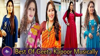 Super Dancer Judges: Geeta Kapoor Musical.ly | Musically India Compilation.