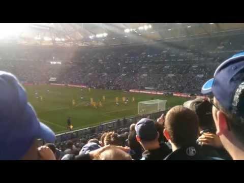 Schalke vs  Hoffenheim Szenen vom Spiel