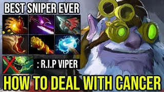 [Babyknight] The Best Sniper Player DEFEAT VIPER MID How to Deal WIth Cancer Hero | Dota 2 Full Game