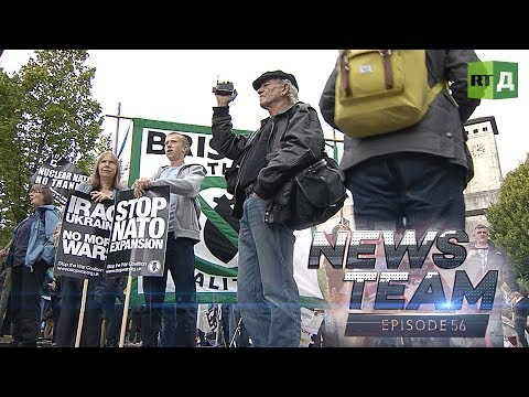 News Team: Anti-NATO protest (E56)