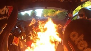 FIA ERC GEKO Ypres Rally 2014 - Escape from Fire