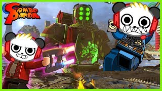 Greatest LEGO Adventures! Let's Play Jurassic World + City Undercover with Combo Panda