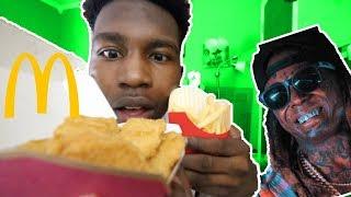 McDonalds Mukbang | Where Is The Carter 5 Lil Wayne? + Drake & Kanye BEEF